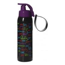 Бутыль для напитков HEREVIN 0.5 л черная, фиолетовая