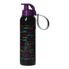 Бутыль для напитков HEREVIN 0.75 л черная, фиолетовая