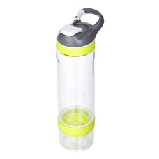 Бутылка для воды с автозакрывающимся клапаном для питья Cortland infuser желтый 720 мл