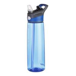 Бутылка для воды с носиком для питья CONTIGO Addison синяя 750 мл