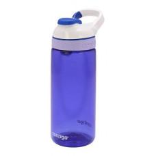 Детская бутылка для воды с автозакрывающимся клапаном для питья Courtney синий 590 мл