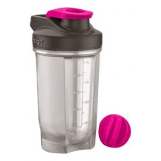 Фитнес-бутылка 590 мл, розовый
