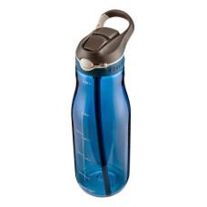 Бутылка для воды с автозакрывающимся клапаном для питья Ashland синий 1.2 мл