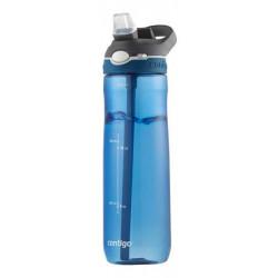 Бутылка для воды с автозакрывающимся клапаном для питья Ashland синий 720 мл
