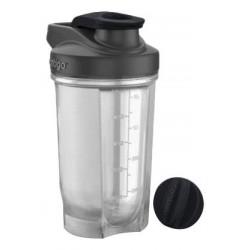 Фитнес-бутылка 590 мл, черный