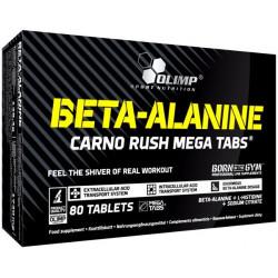 Olimp Carno Rush Mega 80 таблеток без вкуса