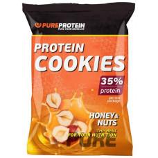 Печенье PureProtein 960 г 12 шт. мед и орехи