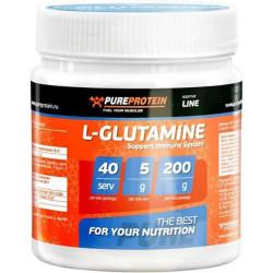PureProtein L-Glutamine 200 г апельсин