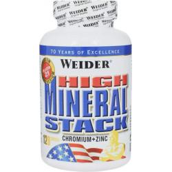 Витаминно-минеральный комплекс Weider High Mineral Stack 120 капсул