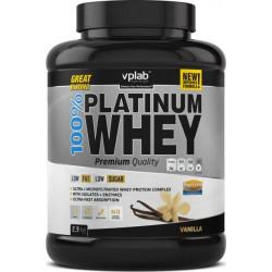 Протеин VPLab 100 % Platinum Whey 2300 г Vanilla