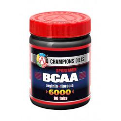 АКАДЕМИЯ-Т BCAA 6000 Sportamin 90 таблеток без вкуса