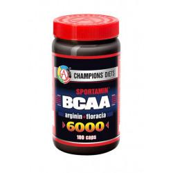 АКАДЕМИЯ-Т BCAA 6000 Sportamin 180 капсул без вкуса