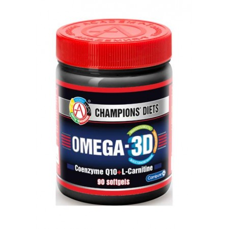 Omega-3 АКАДЕМИЯ-Т Omega-3D 90 гел. капс.