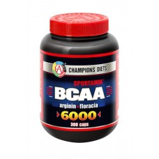 АКАДЕМИЯ-Т BCAA 6000 Sportamin 300 капсул без вкуса
