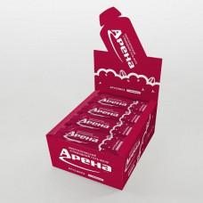 Углеводный гель с кофеином Арена Первая 50 г брусника, 24 штуки в упаковке