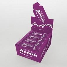 Углеводный гель Арена Первая 50 г черника, 24 штуки в упаковке
