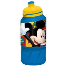 Бутылка пластиковая Stor Микки Маус Символы спортивная, фигурная, 400 мл