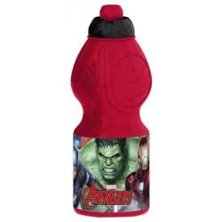 Бутылка пластиковая Stor Мстители Галерея спортивная, фигурная, 400 мл