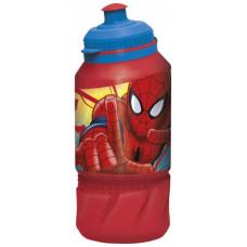 Детская бутылка Stor Человек-паук Красная паутина 420 мл