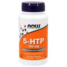 NOW Sports 5-HTP 60 капсул без вкуса