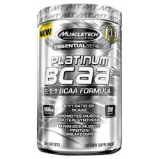 MuscleTech Platinum 100% BCAA 200 капсул без вкуса