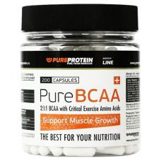 PureProtein BCAA 200 капсул без вкуса