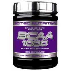 Scitec Nutrition BCAA 1000 300 капсул без вкуса