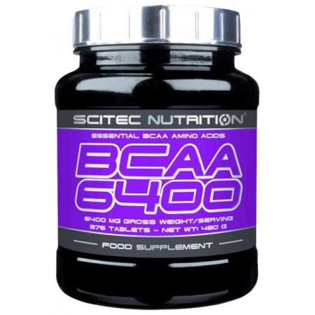 Scitec Nutrition BCAA 6400 375 таблеток без вкуса