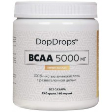 DopDrops BCAA 5000 240 г пина колада