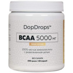 DopDrops BCAA 5000 240 г яблочный сидр