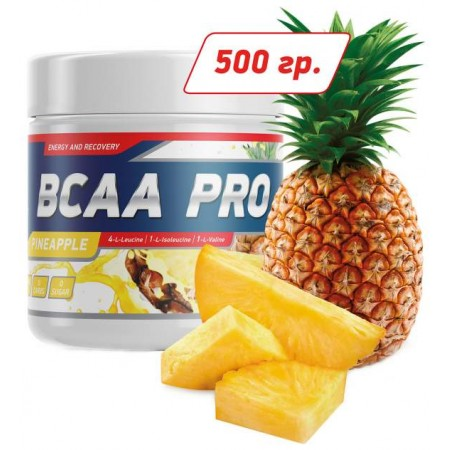 GeneticLab Nutrition BCAA Pro 500 г ананас