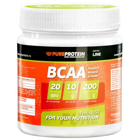 PureProtein BCAA 200 г лимон