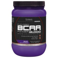 Ultimate Nutrition BCAA 12000 228 г виноград