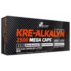 Olimp Kre-Alkalyn 2500 Mega Caps 120 капсул без вкуса