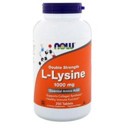 NOW Sports L-Lysine 250 таблеток без вкуса