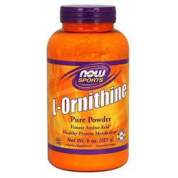 NOW Sports L-Ornithine Powder 227 г без вкуса