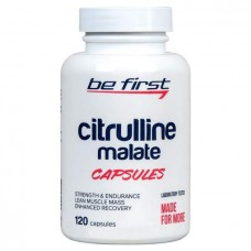 Be First Citrulline Malate Capsules 120 капсул без вкуса