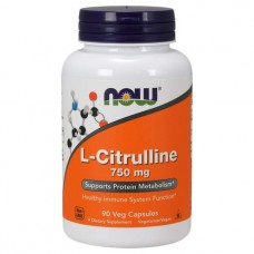 NOW Sports L-Citrulline 90 капсул без вкуса