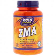 Витаминный комплекс NOW Sports ZMA 90 капсул