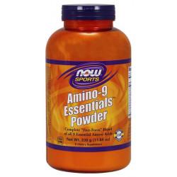 NOW Sports Amino-9 Essentials Powder 330 г без вкуса