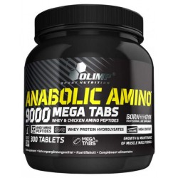 Olimp Anabolic Amino 9000 300 таблеток без вкуса