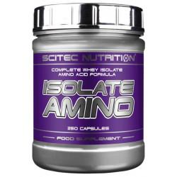 Scitec Nutrition Isolate Amino 250 капсул без вкуса