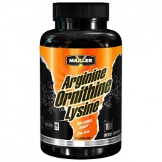 Maxler Arginine Ornithine Lysine 100 капсул без вкуса