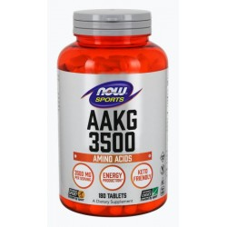 NOW Sports AAKG 3500 180 таблеток без вкуса