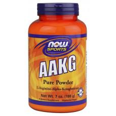 NOW Sports AAKG Powder 198 г без вкуса