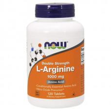 NOW Sports Arginine 120 таблеток без вкуса