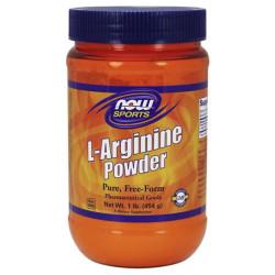 NOW Sports L-Arginine Powder 450 г без вкуса