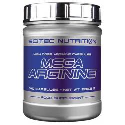 Scitec Nutrition Mega Arginine 140 капсул без вкуса
