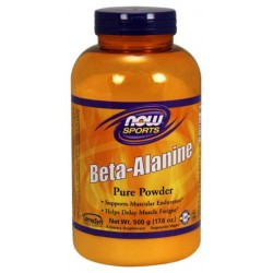 NOW Sports Beta-Alanine 500 г без вкуса
