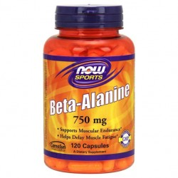 NOW Sports Beta-Alanine 120 капсул без вкуса